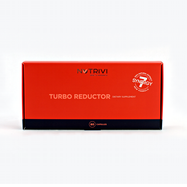 NUTRIVI® TURBO REDUCTOR 60 capsules