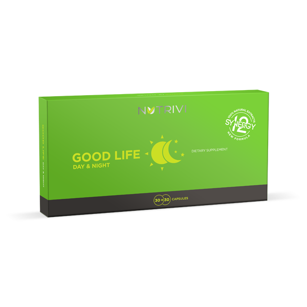 NUTRIVI GOOD LIFE Day & Night Dietary Supplement - 60 Caps