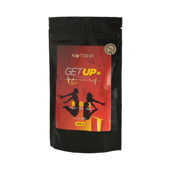 Get Up Energy Supplement Refill Pouch 200g (120 Servings)